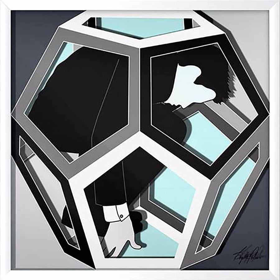 Cosmos Dodecahedron Realise Light Blue