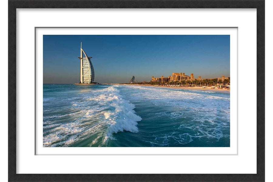 Burj Al Arab from Mina A'Salam