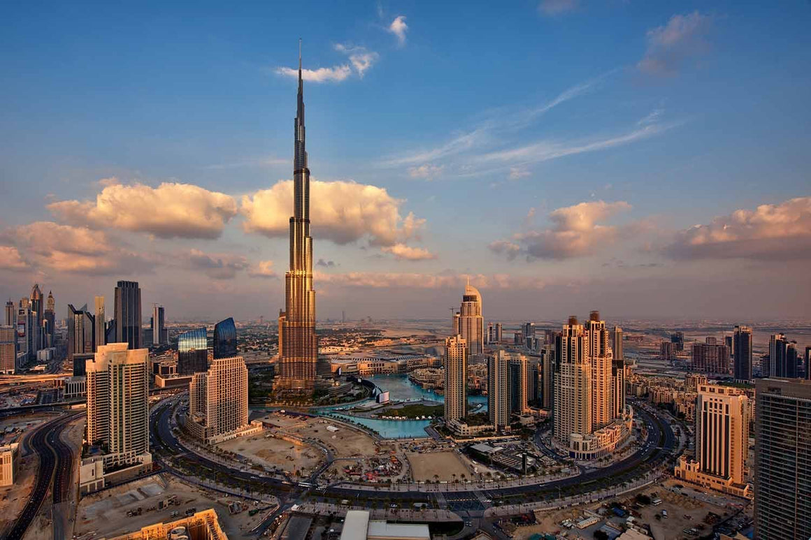 Burj Khalifa and Downtown Dubai