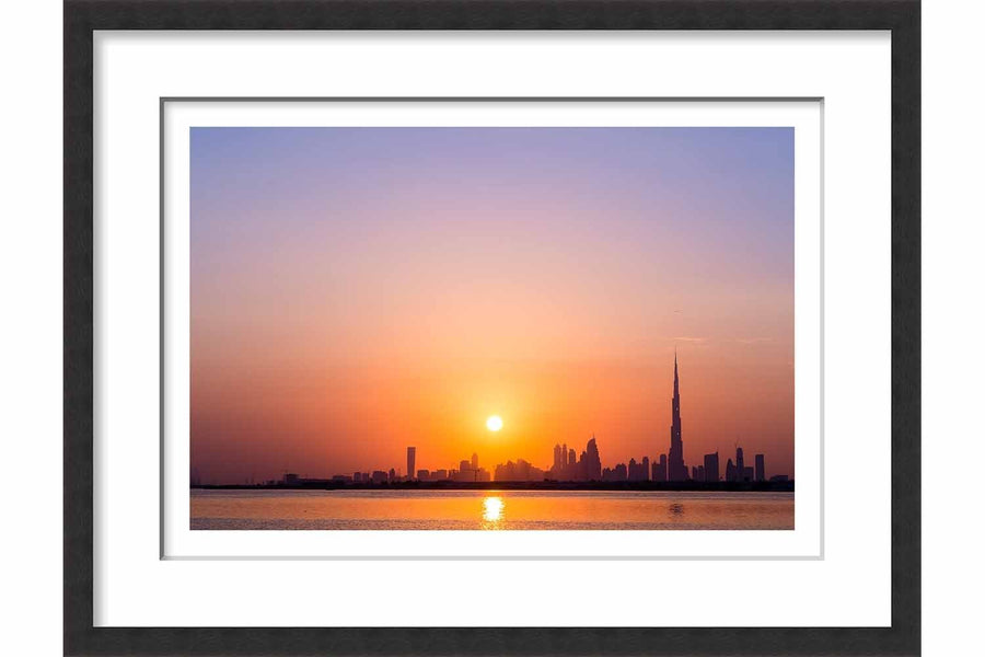 Burj Khalifa Sunset