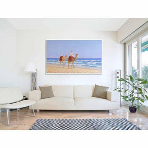 Gulf Seascape on living room wall