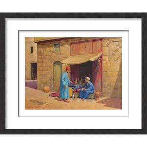 Mini Framed Arab Dealer