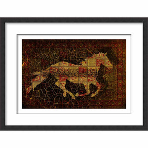 Framed Galloping Horse II
