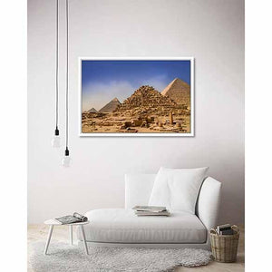 Ancient perspective - Egypt on living room wall