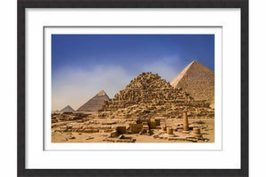 Framed Paper Ancient perspective - Egypt