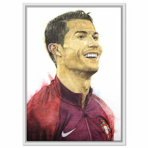 Framed Canvas Ronaldo