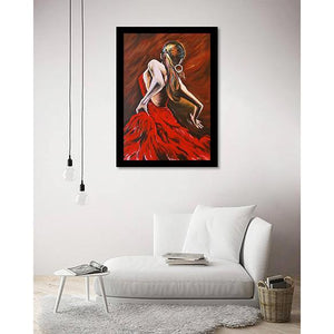 The Dancer on living room wall