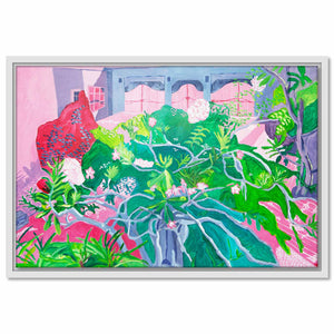 Framed Canvas Secret Garden 7