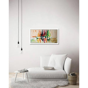 The Contemporary Modern Boats on living room wall