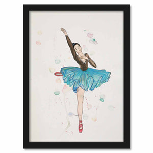 Framed Paper A Dancer 2