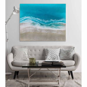 Forever Summer on living room wall