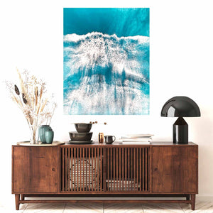 Making Waves on living room wall