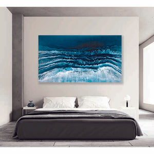 Shore Breaker on bedroom wall