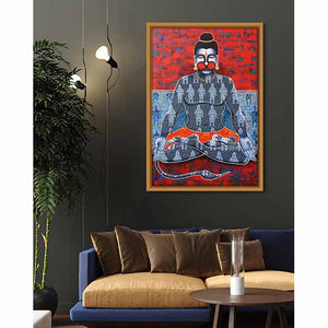 Kapeeshwar: Lord of the Monkeys on living room wall