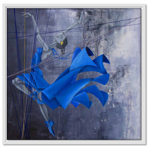 Framed Canvas Lyrical Soul - Ballerina IX