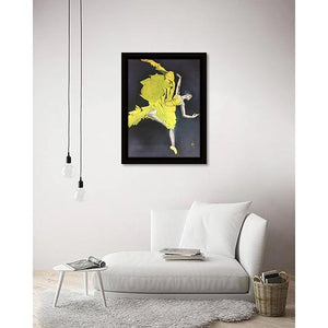 Lyrical Soul - Ballerina II on living room wall
