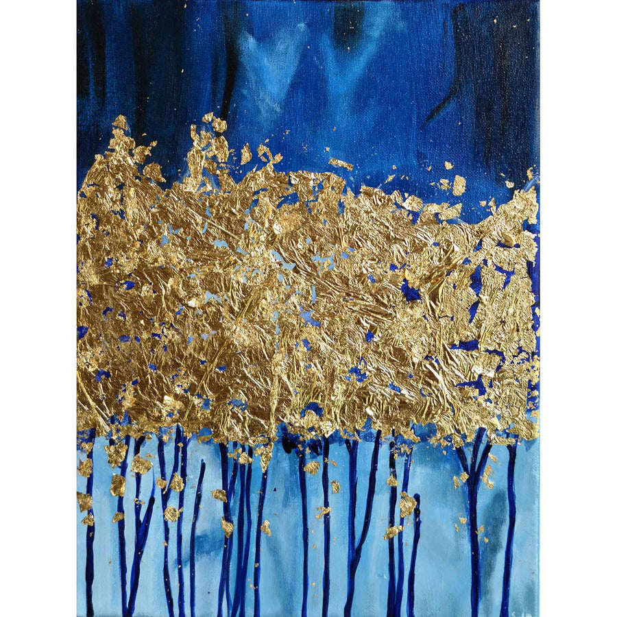 Gold Leaf Tree Canvas