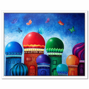Framed Canvas Domes