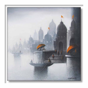 Framed Holy Banaras 4