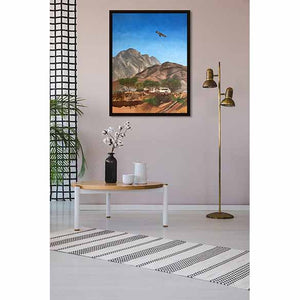 Ras Al Khaimah Siesta on coffee table wall