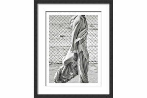 Framed Paper Pathan Garment