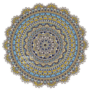 The Happy Mandala - MONDA Gallery