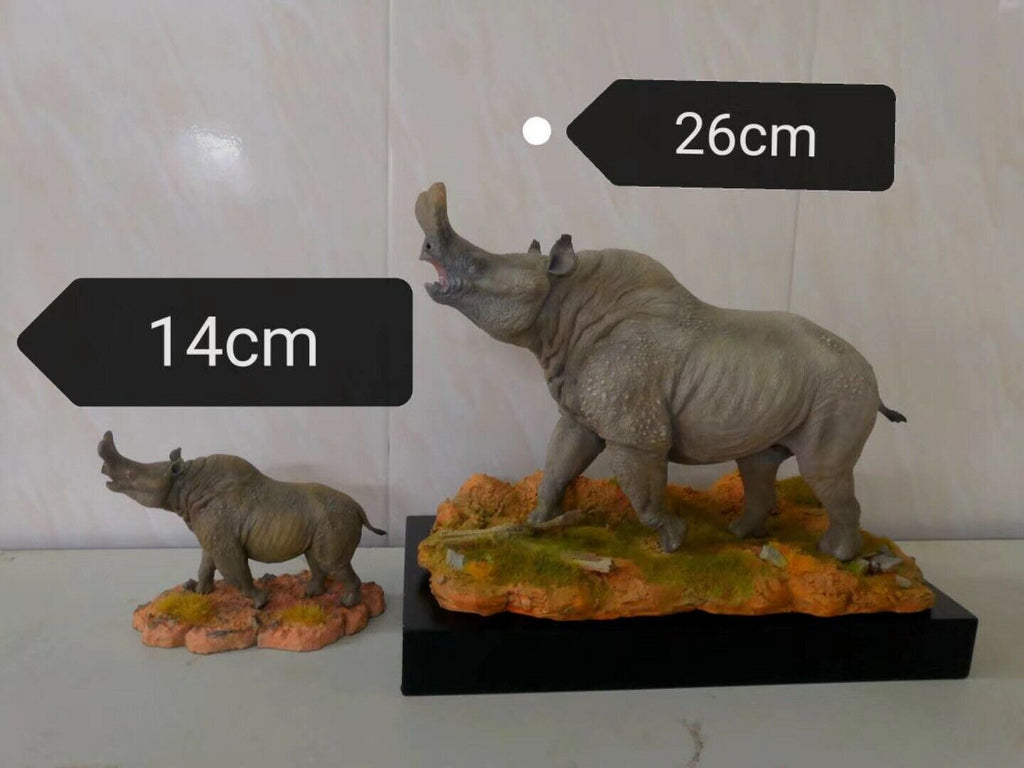 Brontothere Statue Titanotheriidae Animal GK Brontotherium Toy Gift Preorder