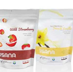 Nutrimeal 30 Packets, Strawberry and Vanilla