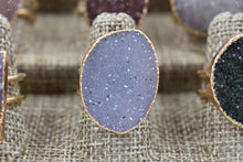 Load image into Gallery viewer, White Druzy Ring