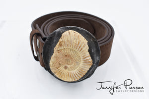 Ammonite Belt Buckle