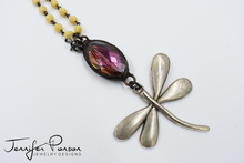 Load image into Gallery viewer, Kissed By A Dragonfly Necklace