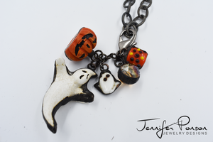 Chain Necklace with Halloween Bundle