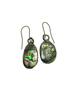 Abalone Soldered Earrings