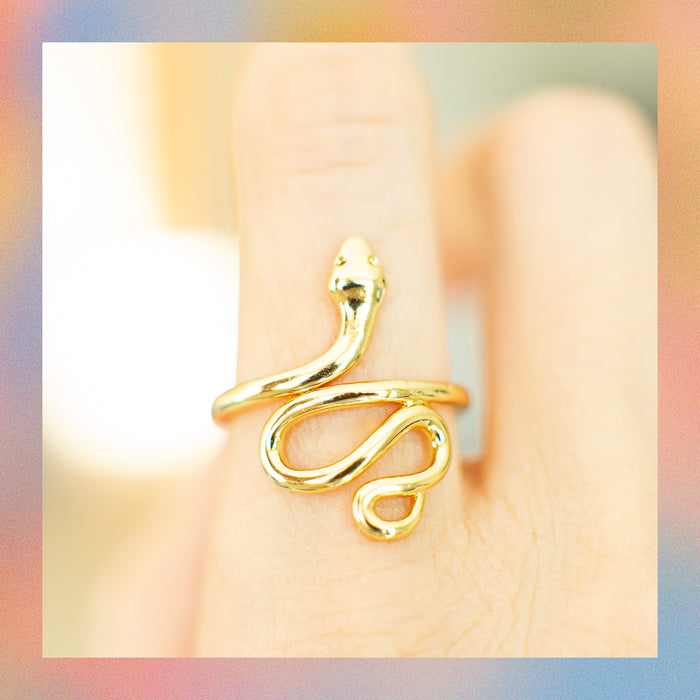 Anillo Ajustable Serpiente | Canario Shop