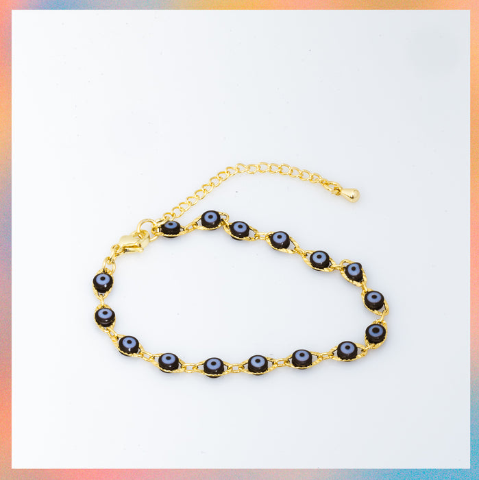 Pulsera / Tobillera Black Eyes