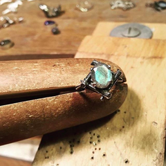 Pyre Crypt Ring