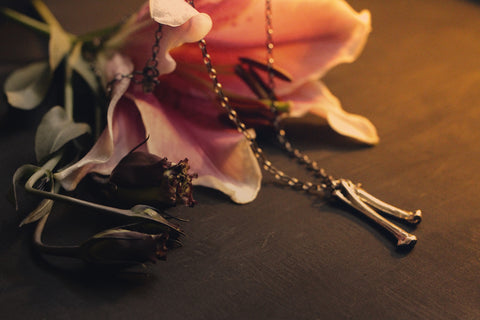 Black Burial Necklace