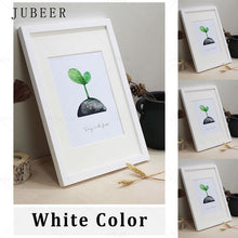 Load image into Gallery viewer, Nordic Simple Wooden Frame A4 A3 Black White Color Picture Photo Frames for Wall picture frames wall photo frame  home decor
