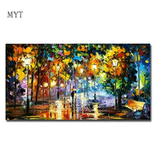 Load image into Gallery viewer, Hand - painted oil painting landscape for the living room wall art home decoration abstract painting without frame