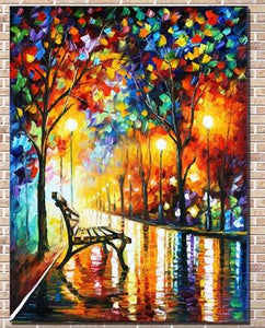 Hand - painted oil painting landscape for the living room wall art home decoration abstract painting without frame