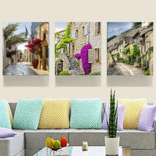 Load image into Gallery viewer, Home Decor Canvas Painting City Street Wall Art Picture Canvas Prints Modern Wall Pictures for Living Room No Frame HY87