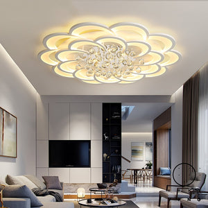 Modern Led Ceiling Lights For Living Room Bedroom Study Room Crystal lustre plafonnier Home Deco Ceiling Lamp avize