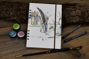 Workshop - Sketchbook binden