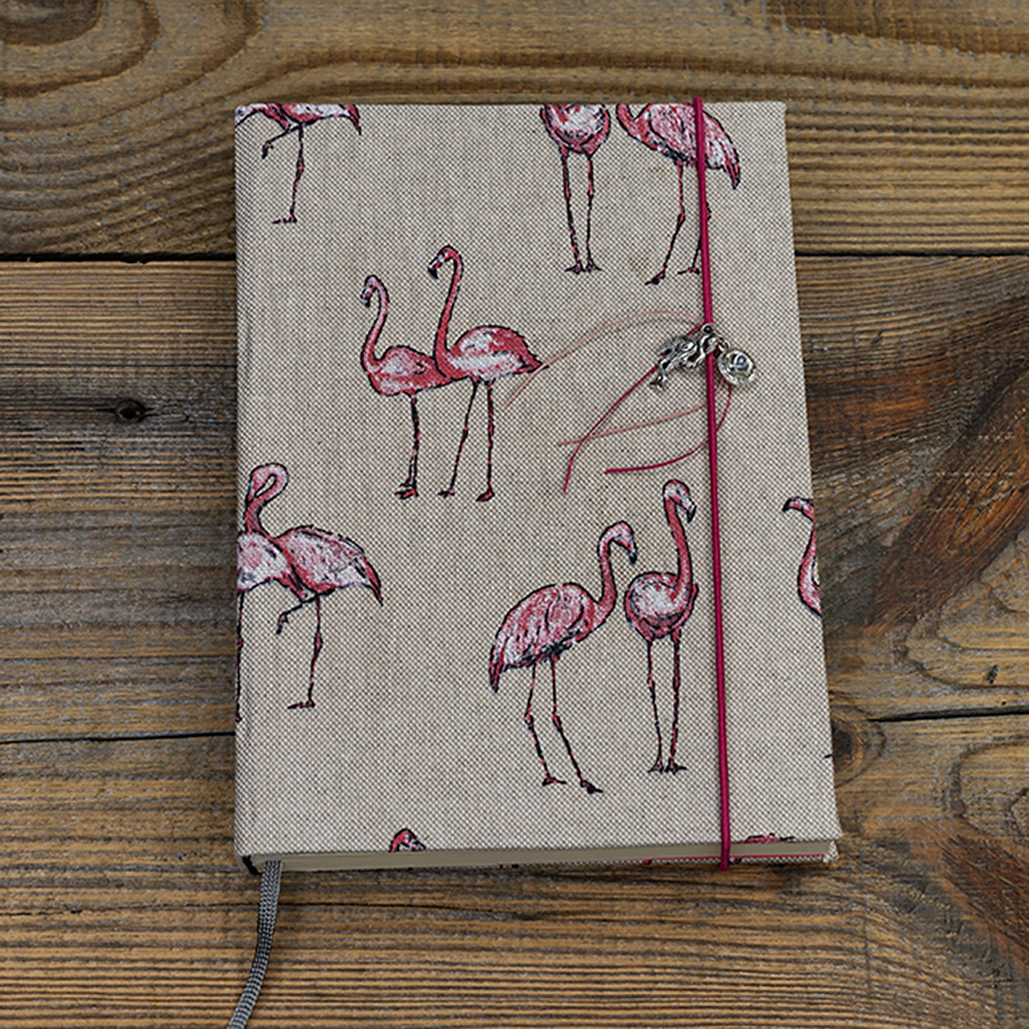 Notizbuch - Flamingo A5