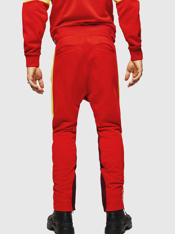 DIESEL: P-AKONY TRACK PANTS (RED)