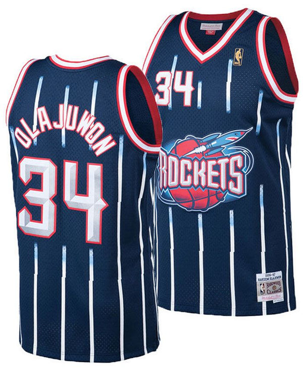 Mitchell & Ness NBA Swingman Collection Hakeem Olajuwon Jersey ('96 Rockets - Road)