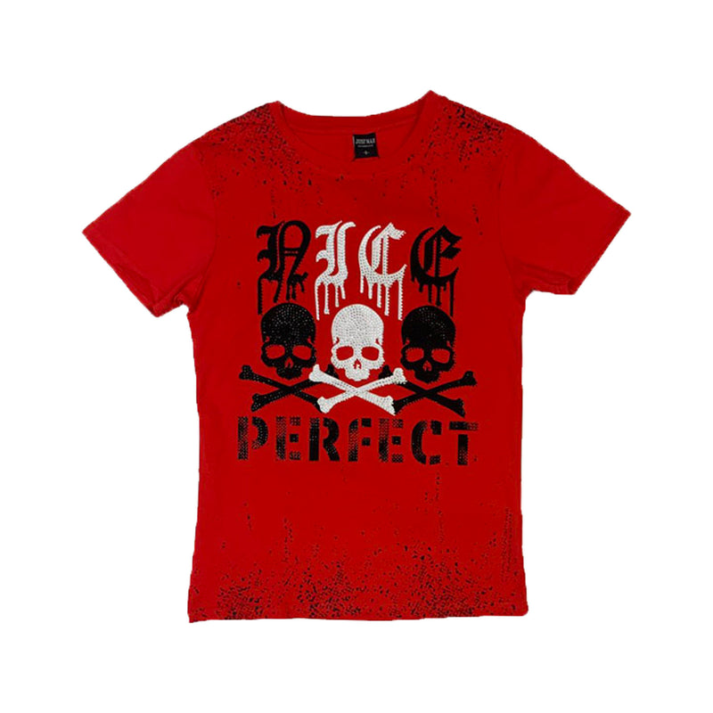 Just Man: Just Man T-Shirt (Nice Perfect) Red
