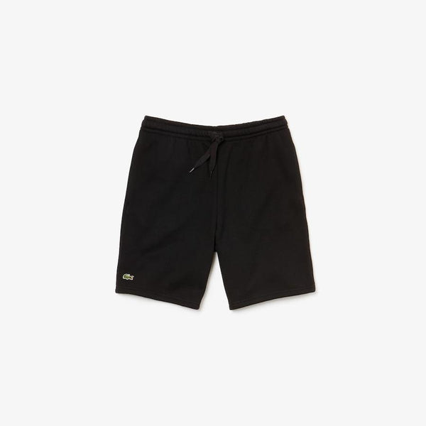 Lacoste: Men's Sport Tennis Fleece Shorts (Black)