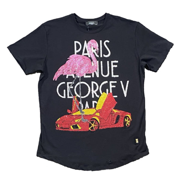 George V: GV-2059 (Black) T-Shirt