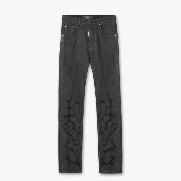 Represent: Straight Leg Denim (Oil Black)